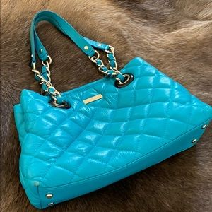 Kate Spade quilted leather bag.Gently worn